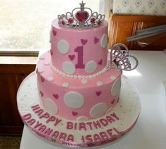 First birthday princess cake ideas