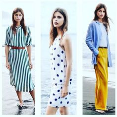 •Green •Stripes •Dots •Yellow  All important keywords for the #ss16 collection from @selected_femme ☀️ Soon in stores! #selectedfemme #feelselected #fashion #trend #spring #summer #fashionista #selected