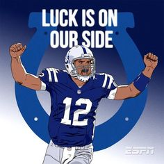 Luck is on our side!