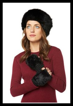 Cossack Hat Soft and fluffy polyester Cossack Hat in a black faux fur style. Classic piece which never goes out of style. Fur Fashion, Fashion Beauty, Style Fashion, Cossack Hat, Out Of Style, Female Characters, Cool Things To Make, Faux Fur, Going Out