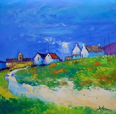 """""""Beach Path from the Abbey - Iona""""  John Lowrie Morrison"""