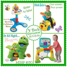 Enter to win The VTech Prize Package Giveaway! FANTASTIC GIVEAWAY! Enter here http://heartbeatssoulstains.com/wordpress1/vtech-prize-package-giveaway For Your Chance To Win! YOU KNOW THAT I DEFINITELY ENTERED!!!!!!!!!!! I WANT THIS SO BAD!!!!!!!!!!!!! Thanks, Michele :)