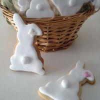 Galletas conejos de pascua