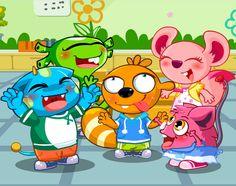 Pili, Laki, Ola, Lele, & Nani, some of the characters from ALO7's curriculum. #ALO7English