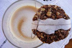 Zabpelyhes-kakaós keksz Biscuits, Oatmeal, Muffin, Baking, Breakfast, Vaj, Recipes, Food, Photos