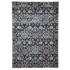 Moss Blue Rug | Sizes Available | French Provincial @ The Home