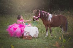 Princess and pony tea party A Slice of Life Photography