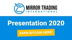 MIRROR TRADING INTERNATIONAL - PRESENTATION (2020) Networking Companies, Conservative Quotes, The Secret Book, Simple Life Hacks, Working With Children, Make It Work, Online Business, Presentation, Ads