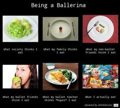 My. Life. Everyone always tell me to eat cause I'm so skinny but it's like HAVE YOU SEEN ME EAT??? #dancerprobz