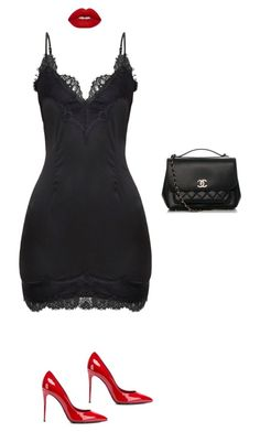 """""""Untitled #729"""" by maritzawaffles on Polyvore featuring Dolce&Gabbana, Lime Crime and Chanel"""