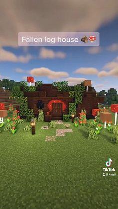 Minecraft House Plans, Minecraft Cottage, Easy Minecraft Houses, Minecraft Room, Minecraft House Designs, Minecraft Decorations, Amazing Minecraft, Minecraft Blueprints, Minecraft Crafts