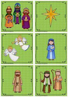 Endlich Pause 2.0: Lesespiel zur Weihnachtsgeschichte
