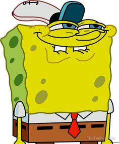 Grinning Spongebob - Funny Spongebob Meme Shirt Wie Zeichnet Man Spongebob, Memes Spongebob, Spongebob Drawings, Funny Drawings, Cartoon Memes, Spongebob Squarepants, Cartoons, Anime Disney, Spongebob Painting