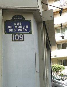 La rue du Moulin-des-Prés (Paris 13ème)