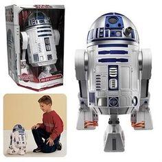 Star Wars Interactive Astromech Droid Robot(Discontinued by manufacturer) R2d2 Robot, 80 Tv Shows, Old School, Action Figures, Helmet, Star Wars, R2 D2, Stars, Sterne