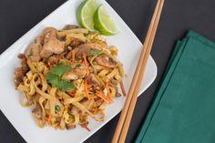 chicken pad thai - the domestic man