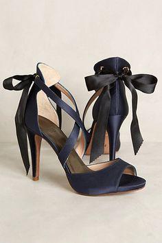 hoss intropia revelry heels   anthropologie Navy Blue Strappy Heels 8cf47738ec3d