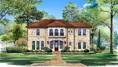 CONGRESSIONAL House Plan - 4856
