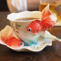 金魚とコーヒーと釣り堀と。全部一緒に楽しめる異空間「金魚坂」へ行こう
