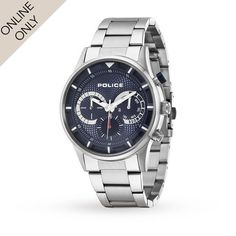 Mens Watches - Mens Police Driver Watch - 14383JS 03M Relojes 8c3bb8ba903