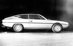 OG |1971 Alfa Romeo Coupé - Project 119 | Marcello Gandini at Bertone designed this flagship coupé based on Alfa 6 also under development at these times. Due to the oil crisis, the Coupé project was canceled (AR preferred to focus on Giugiaro's GTV) and the Alfa 6, scheduled for 1973, was delayed to 1979.