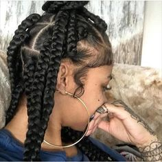 What yal think about these dookie braids on @indialove ?   #JumboBraids #singlebraids #ATLHAIR #LAHair by ezbeautified