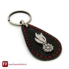 Feuerwehrfan - FeuerwehrFan Talisman, Fan, Personalized Items, Leather, Fans