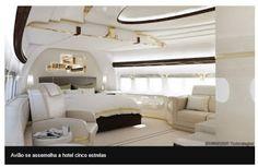 Bilionário misterioso transforma Boeing 747 em 'mansão que voa'