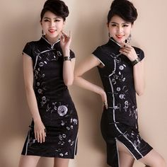 【CS360】CNY Natural Silk Modern Plus Size Cheongsum Cheongsam Chinese Dress QiPao Blouse Oriental Traditional 旗袍