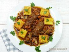 Variations Gourmandes: Alouettes sans tête et polenta gratinée (Li couaïeta é poulenta broustoulit)