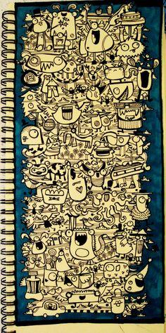 Doodle-9 by dingbat23.deviantart.com