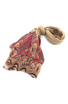 Urban Originals Feather Print Scarf available at #Nordstrom