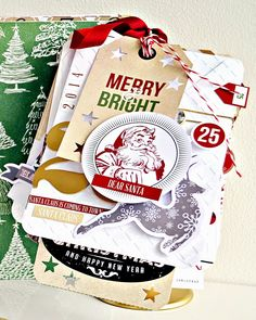 I HAVE to have this new line of Christmas paper from Teresa Collins Designs!