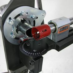 TN-250, Baileigh Hole Saw Notcher, Tube and Pipe Notching Machine