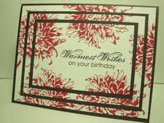 Klompen Stampers (Stampin' Up! Demonstrator Jackie Bolhuis): Triple Layer Stamping!