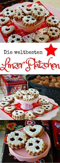Die weltbesten Linzer Plätzchen - mein Lieblings Plätzchen Rezept