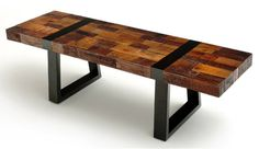 Image result for reclaimed wood bench