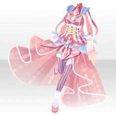 ジークレストゲームフェスタ 限定カラー交換|@games -アットゲームズ- Komplette Outfits, Anime Outfits, Anime Dress, Fashion Design Drawings, Anime Hair, Star Girl, Drawing Clothes, Character Outfits, Fashion Games
