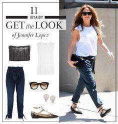 Get the look: Το casual chic look της Jennifer Lopez