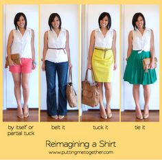 Building a Remixable Wardrobe, Part 1: Reimagining Clothes
