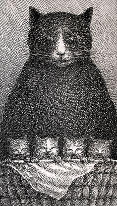Franco Matticchio ~ Mama Cat
