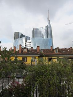 Scenery from roof op of Corso Como