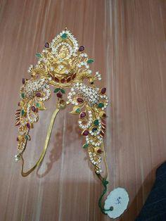 Used Gold Jewelry For Sale Vanki Designs Jewellery, Jewelry Design Earrings, Indian Jewellery Design, Gold Earrings Designs, Feather Jewelry, South Indian Jewellery, Gold Jewelry For Sale, Gold Jewelry Simple, Jewelry Patterns