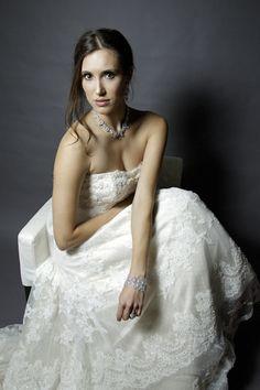 photo shoot of bride - wedding photo by top Orange County, California wedding photographers D. Park Photography