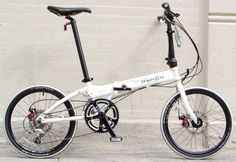 Black Friday 2014 Dahon Formula Folding Bike, White, One Size from Dahon Cyber Monday Bike Friday, Bike Deals, Types Of Folds, Folding Bicycle, Bicycle Parts, Brompton, Electric Bicycle, Cycling Bikes, Image