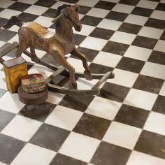 Merola Tile Kings Damero in. Ceramic Floor and Wall Tile…