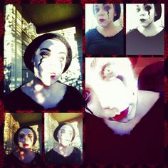 Face mime mask