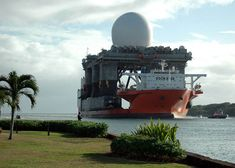 When one needs to transport a large number of ships (perhaps they aren't ocean-ready), move a gigantic oil rig (like BP's Thunder Horse PDQ) or perhaps carry a damaged warship home (The USS Cole), the MV Blue Marlin heeds the call. Blue Marlin is a semi-submersible heavy lift ship designed to transport very [...]
