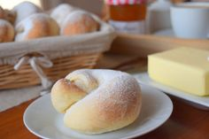 Mallorské šneky - Avec Plaisir Sweet Buns, No Bake Pies, Bread Recipes, Baked Goods, Breakfast Recipes, Bakery, Good Food, Brunch, Food And Drink