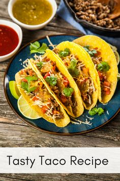 Simple and easy taco recipe. Your family will love this easy taco recipe. #taco #tacorecipe #easydinner #recipe #food #easyrecipe